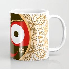 Jagannath. Indian God of the Universe. Lord Jagannatha. Coffee Mug