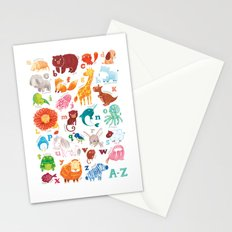 Animalphabet Stationery Cards