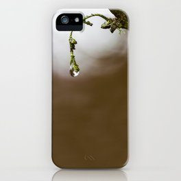 Sometimes It's Hard To Let Go iPhone Case