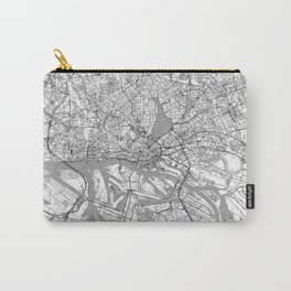 Hamburg Map Line Carry-All Pouch