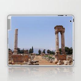 Ruins - Pillars & Mountains  Laptop & iPad Skin