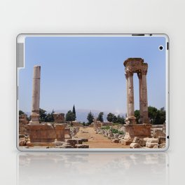 Ruins - Pillars & Mountains  Laptop & iPad Skin