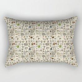 Vintage Entomology Rectangular Pillow
