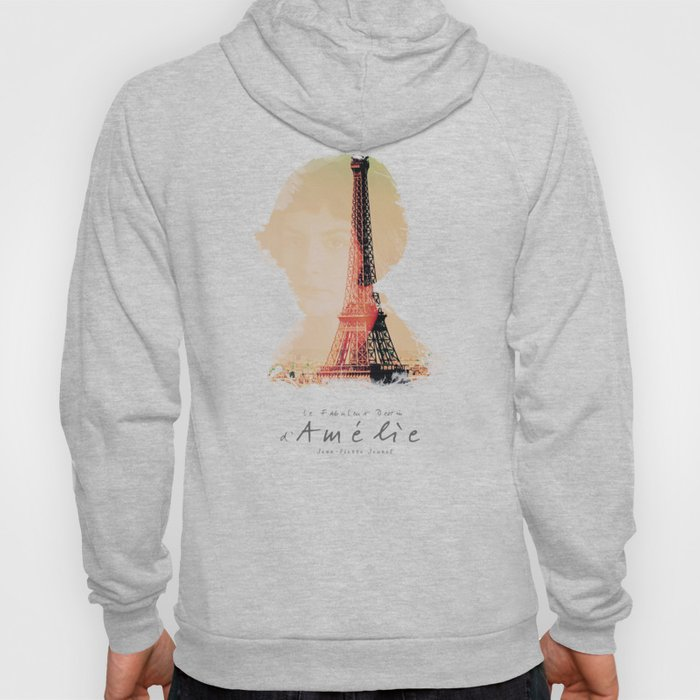 Amelie, minimalist movie poster, french film playbill, the fabulous life of Amélie Poulain, Hoody