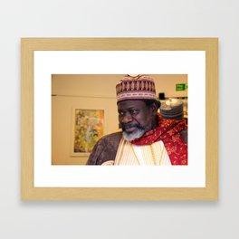 Imam Cisse Framed Art Print