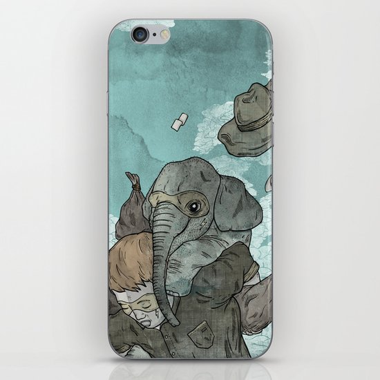 A dream about robbing a bank together iPhone & iPod Skin