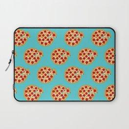 Fun salami pizza pie pattern Laptop Sleeve
