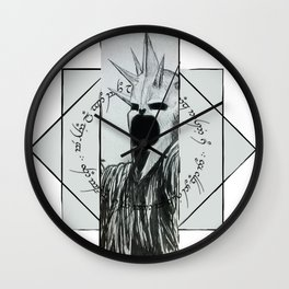 The Lord of the Nazgûl Wall Clock