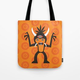 3 Eye Monster Tote Bag