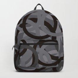 Geometry by Glojag Gray 2 Backpack
