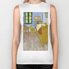 "Vincent Van Gogh ""Bedroom in Arles"" Biker Tank"