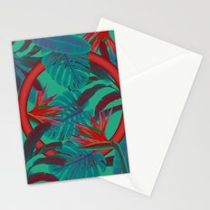 Blue Jungle Stationery Cards