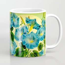 Blue Morning Glories Coffee Mug