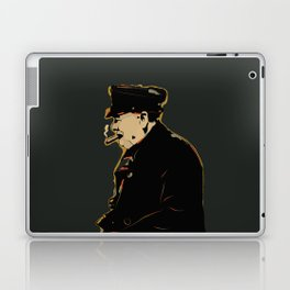 Winston Churchill Pop Art Quote Laptop & iPad Skin