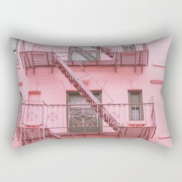 Pink Soho NYC Rectangular Pillow