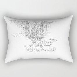 ASCII Lyrebird Rectangular Pillow