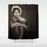 india Shower Curtains featuring India by Alexia Rose