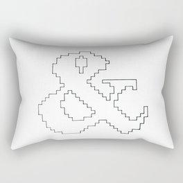 Ampersand pixel Rectangular Pillow