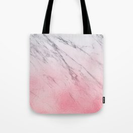 Cotton candy marble Tote Bag