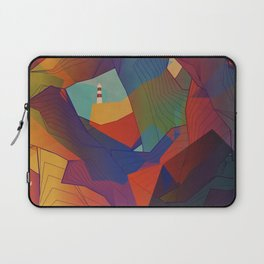 The Rocks by the Lighthouse Laptop Sleeve