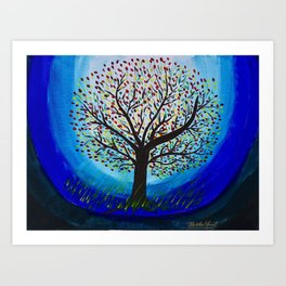 Colors of life Art Print