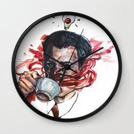 Coop Loves Coffee Wall Clock