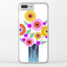 Floral Potpourri Clear iPhone Case