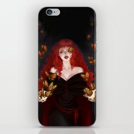 Isabella the red witch iPhone Skin
