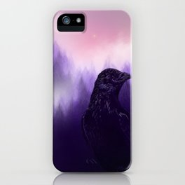 Mythical crow iPhone Case