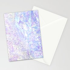 Iridescent Crystal Stationery Cards
