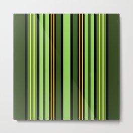 Nature's Stripes Metal Print