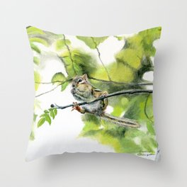 Balancing Act by Teresa Thompson Throw Pillow
