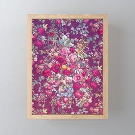 """Eternal spring"" - The bouquet Framed Mini Art Print"