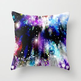 The City of Stars Throw Pillow
