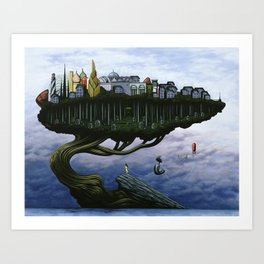 The Actuarium Art Print