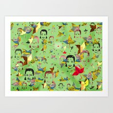 Happy Faces Art Print