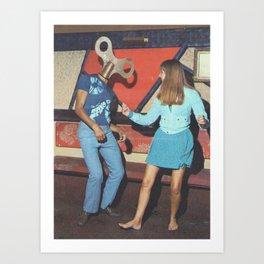 Danceophobia Art Print
