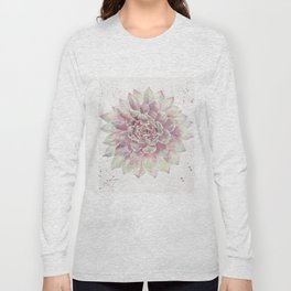 Big Succulent Watercolor Long Sleeve T-shirt