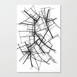 Suspension (Fractal Scaffold series #2) Canvas Print