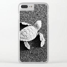 Guatemala - Sea Turtle to the Sea Clear iPhone Case
