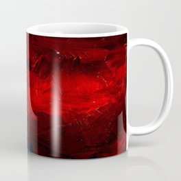 Cool Red Duvet Cover Coffee Mug
