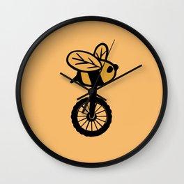 Abejorro redondo Wall Clock