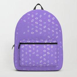 pisces zodiac sign pattern pu Backpack