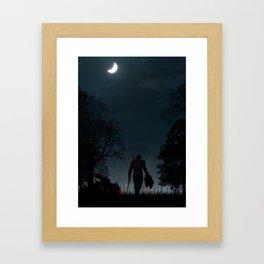 Witcher | Warriors Landscapes Serries Framed Art Print