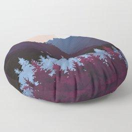 Mulberry Dusk Floor Pillow
