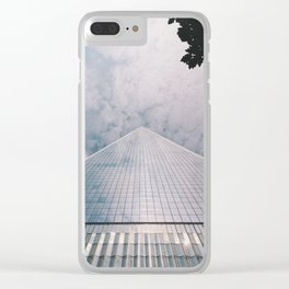 1 World Trade Center Clear iPhone Case