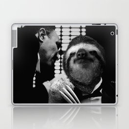 Sloth as Godfather Laptop & iPad Skin