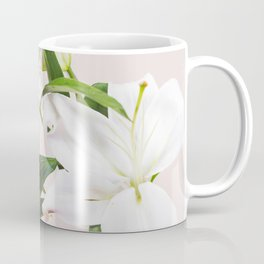 Tropical White Flowers #society6 #decor #buyart Coffee Mug