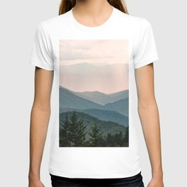 Smoky Mountain Pastel Sunset T-shirt