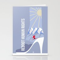 games Stationery Cards featuring Winter games by Inksider